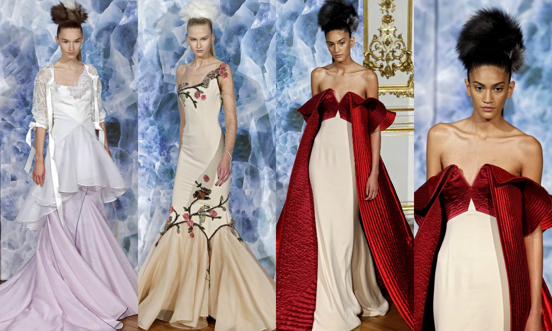gama alta novia por correo trajes