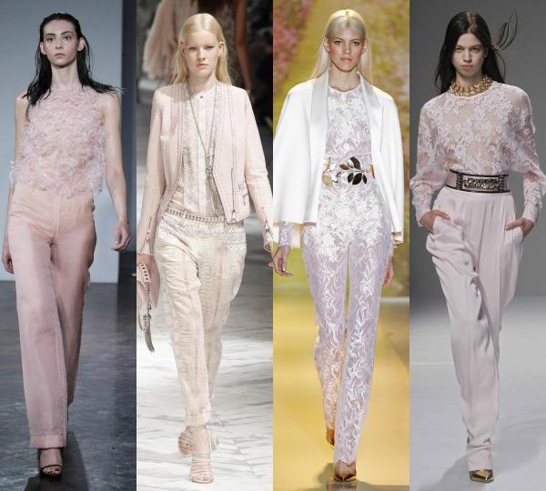 La discreta elegancia del pantalón blanco