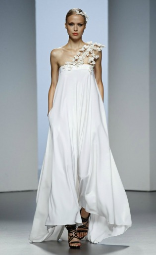 Aires de novia en la Fashion Week Madrid