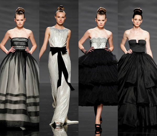 Inspiración 'black' para novias, ¿te atreves con esta tendencia?