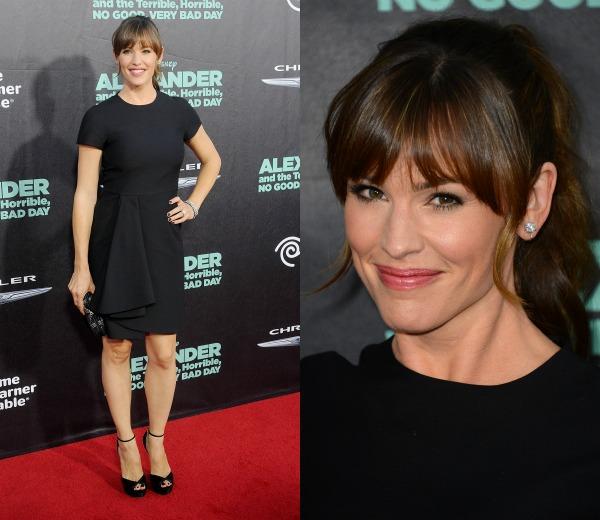 Jennifer Garner, o cómo triunfar en la alfombra roja con un 'little black dress'