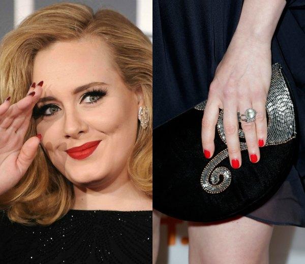Uñas perfectas para lucir anillo... como una estrella de cine