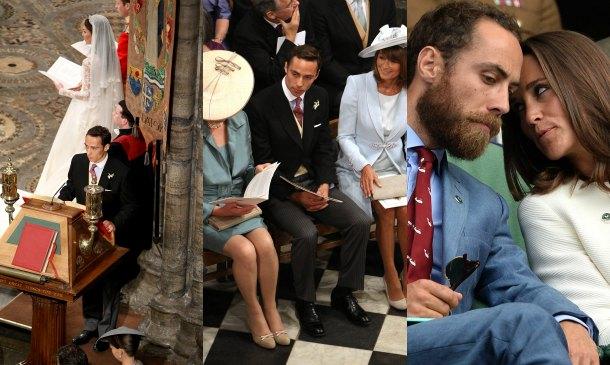 James Middleton, o cómo superar el 'miedo escénico' en una boda