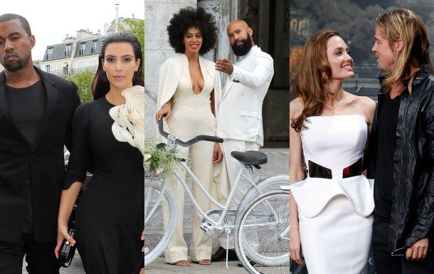 La boda entre Kim Kardashian y Kanye West, la más buscada
