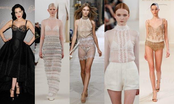 Lencería 'all white' para novias de invierno