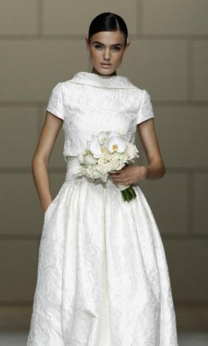 Los tejidos más prácticos para tu vestido de novia