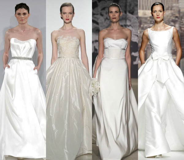 tejidos más prácticos para tu vestido de novia