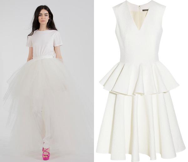Vestidos novia alternativos