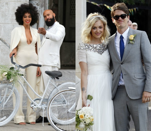 los vestidos más 'cool' para novias alternativas