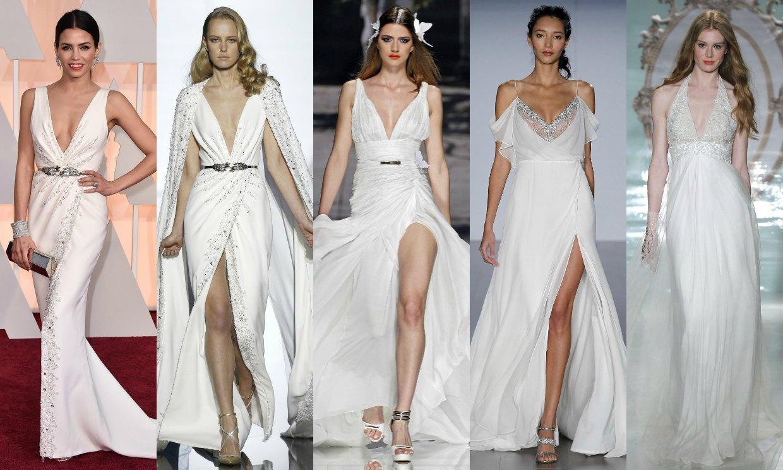 Las seis 39 novias 39 de los oscar 2015 - Diseno alta costura ...