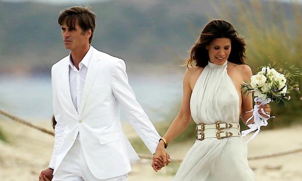 9ba14bfe2 El  hippie chic  de las novias con vestidos ibicencos