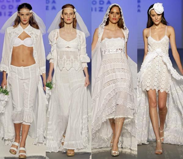 Modelos de vestidos playeros para bodas