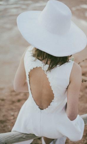 La elegancia del 'little white dress'
