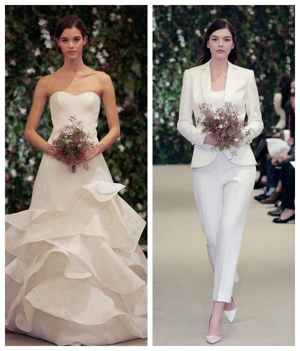 Vestidos de novia carolina herrera 2016