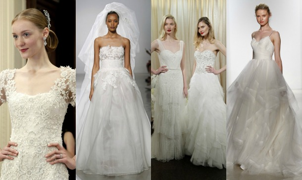 New York Bridal Week: La vuelta de la novia clásica
