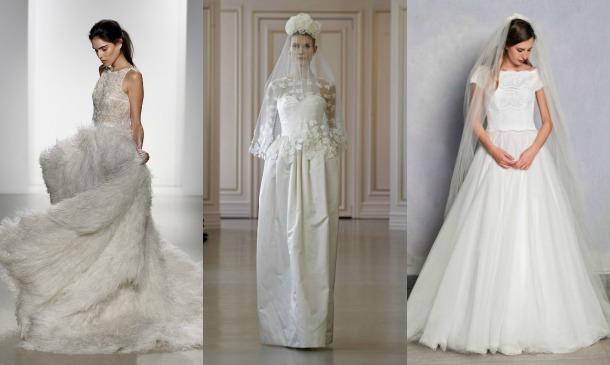 vestidos de novia 2016: todas las tendencias que conocemos hasta el