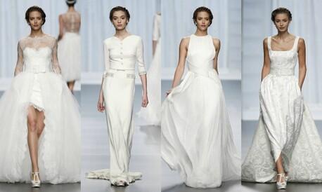 e0a2935e De la novia 'Artemisa' a la 'camisa + falda': Rosa Clará estrena la  Barcelona Bridal Week