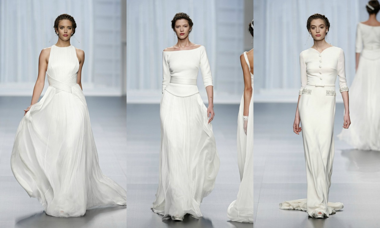 De la novia \'Artemisa\' a la \'camisa + falda\': Rosa Clará estrena la ...