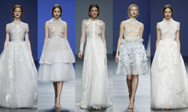 La novia lencera de Marco & María, la nota más dulce de la Barcelona Bridal Week