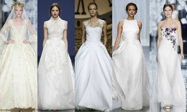 Las diez tendencias 'top' de Barcelona Bridal Week