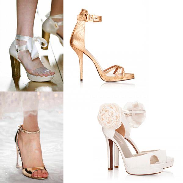 6323ed593e223 Ocho tendencias en zapatos de novia que no hay que perder de vista ...