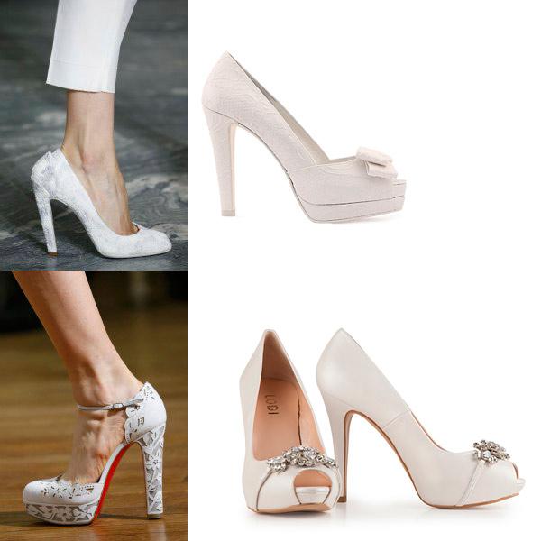 ocho tendencias en zapatos de novia que no hay que perder de vista