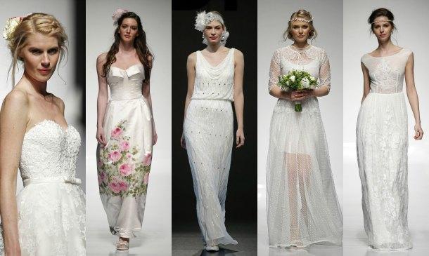 'Bridal Week': Todas las tendencias de las pasarelas de novia de Londres y Milán