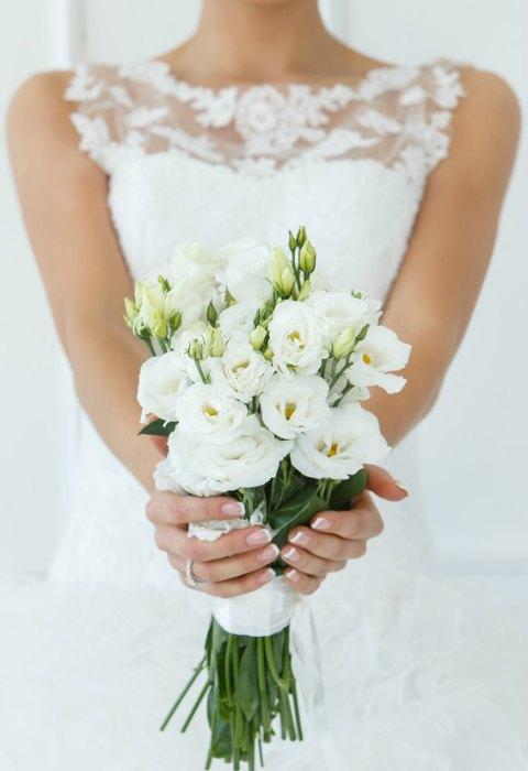 Blanco blanco blanco pasteles y ramos de novia en 39 all - Ramos de calas para novias ...