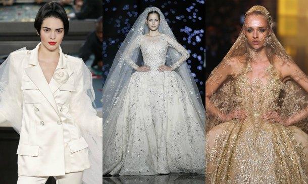 Todas las novias de la 'Haute Couture'