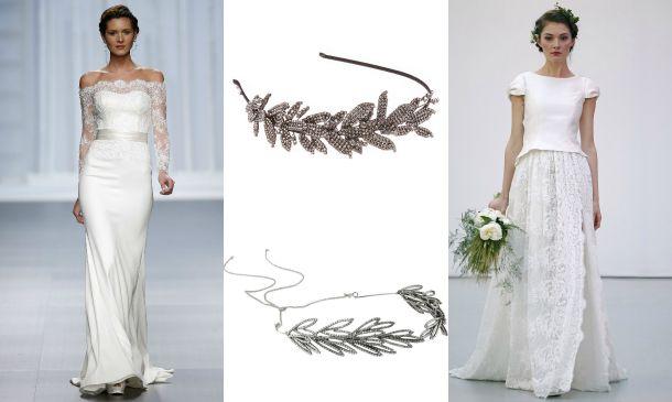 ¿Es posible llevar diadema con (casi) cualquier vestido de novia?