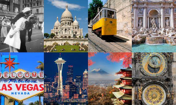 ¿Qué ciudades son las más románticas para irse de luna de miel?