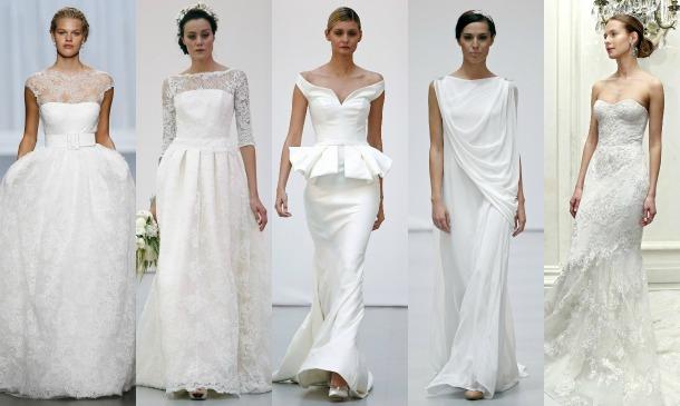 Votación: ¿Qué tipo de traje de novia es el más bonito?