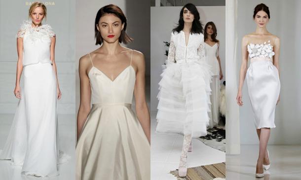 Vestidos de novia en once