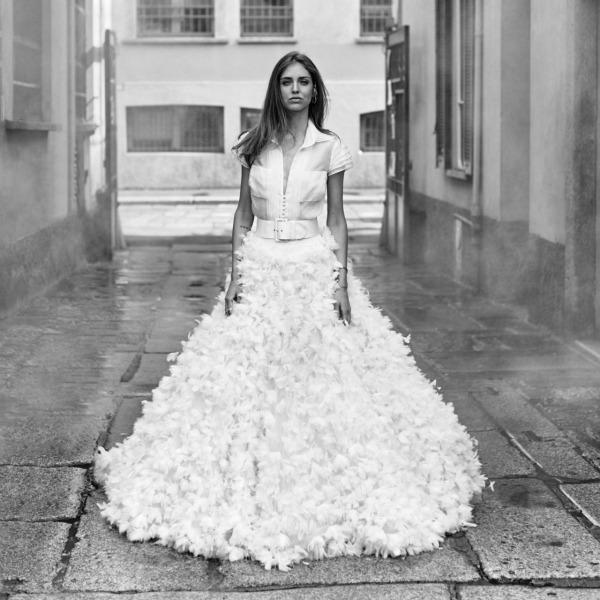chiara ferragni explica por qué la cazadora de novia está de moda