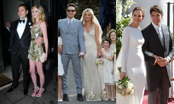 'Celebrity brides'... con nombre de modelo