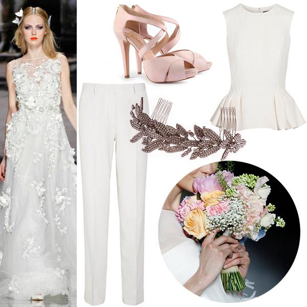 Dos vestidos mejor que uno... La tendencia favorita de las novias