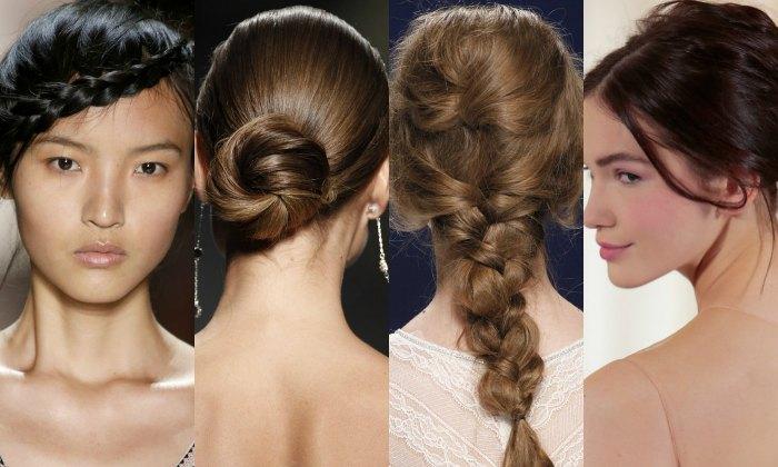 Cómo llevar joyas en el pelo con cuatro peinados de novia diferentes