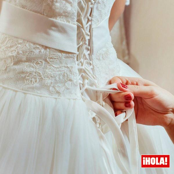 Mi vestido de novia me queda grande