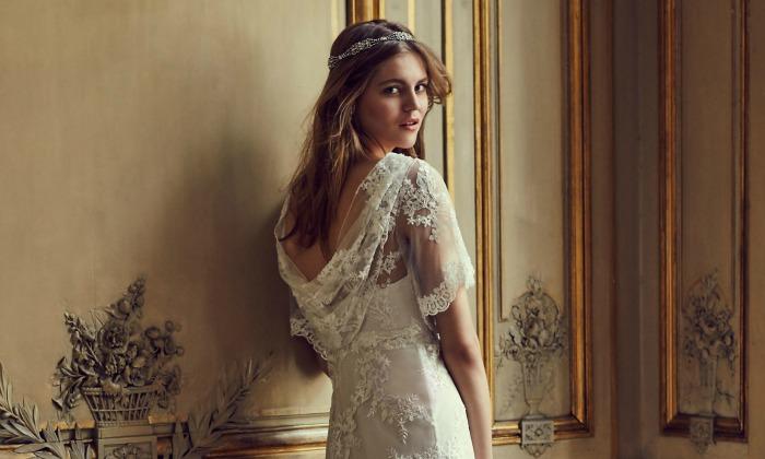 Vestidos de novia cortos low cost