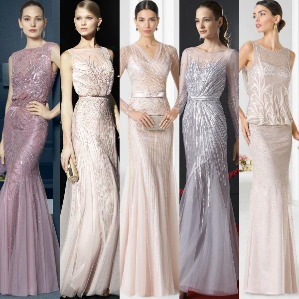Bordados con lentejuelas para vestidos de novia
