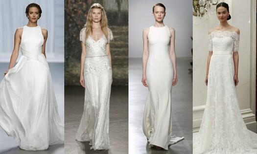 Cuatro Tipos De Lencería Para Cuatro Vestidos De Novia