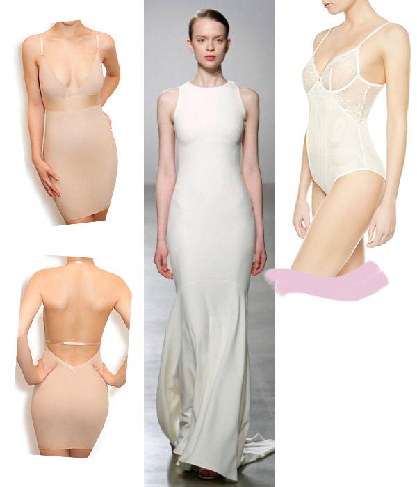 Cuatro tipos de lencer a para cuatro vestidos de novia for Ropa interior de novia