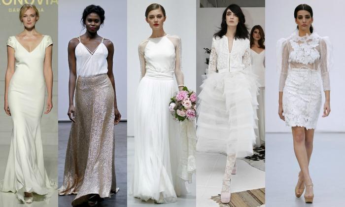 Cuándo es el mejor momento para cambiarse de vestido de novia (si ...