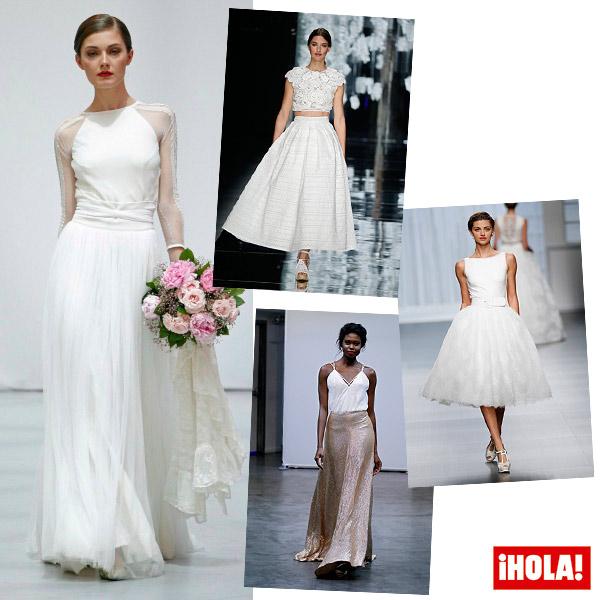 Como debe ser el segundo vestido de novia