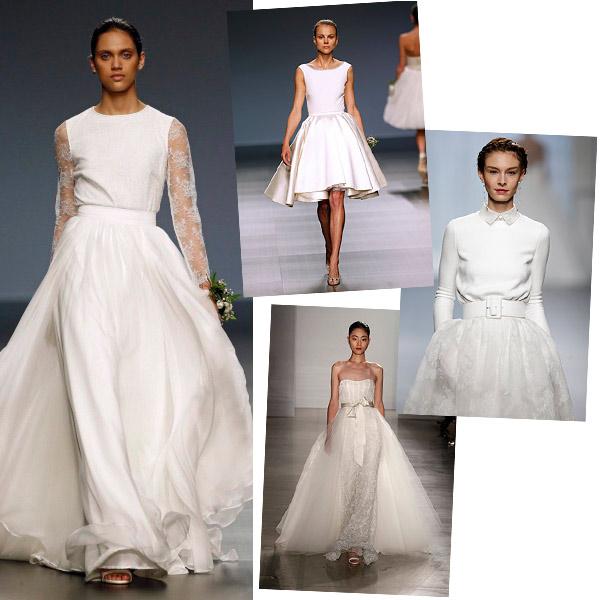 cuándo es el mejor momento para cambiarse de vestido de novia (si