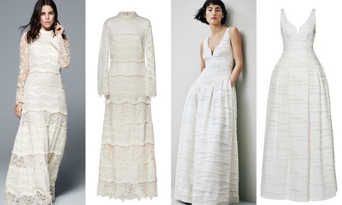 Tres nuevos vestidos de novia \'low-cost\'
