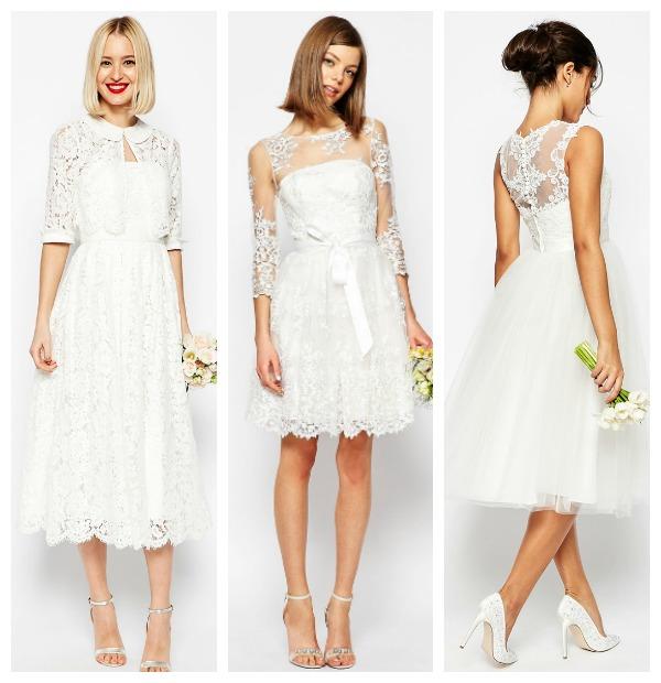 7835ae05f Tres nuevos vestidos de novia  low-cost