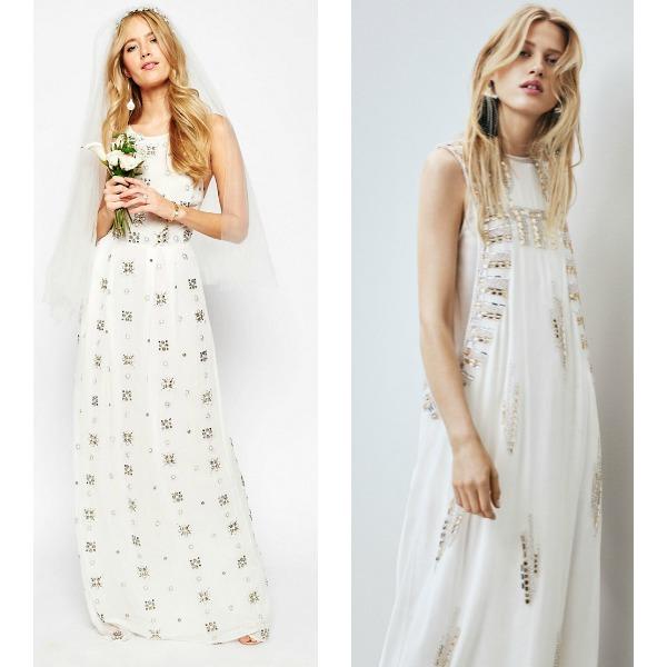tres nuevos vestidos de novia 'low-cost'