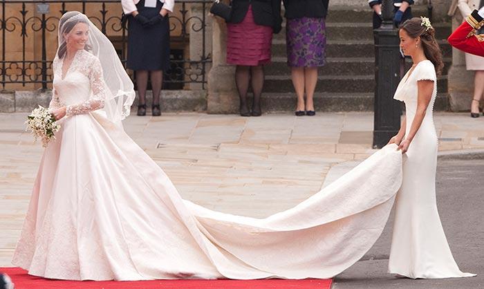 ¿Qué sucede con el vestido de novia de la Duquesa de Cambridge?