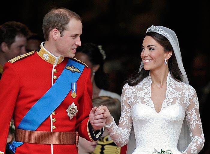 qué sucede con el vestido de novia de la duquesa de cambridge?